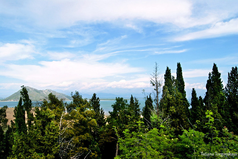 Вид от крепости в сторону озера