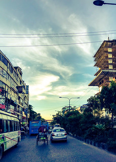 Dhaka, Bangladesh. On iPhone.