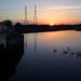 IMG_7923 - Sunset - Redbridge, Southampton - 14.10.17