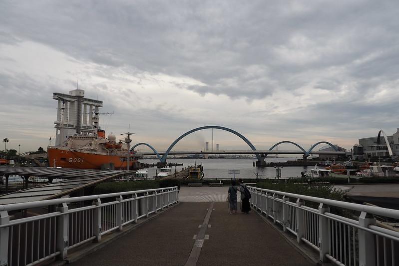 名古屋港の眺め