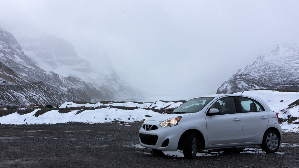 Nissan Micra - Columbia Icefield