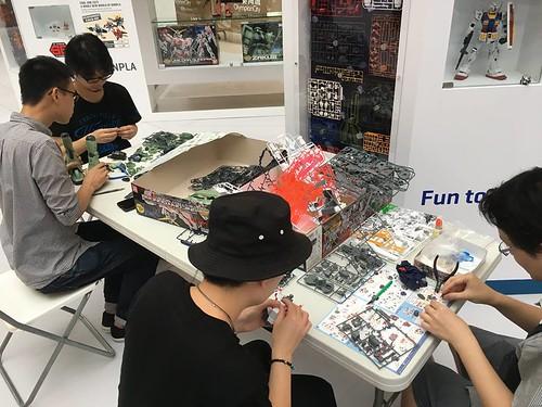 Gunpla Expò Hong Kong 2017 Walk Tour