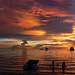 SUNSET viewed from WHITE BEACH, Boracay, The Visayas, Philippines