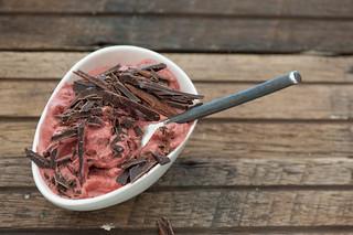 No-Churn Cherry & Chocolate Ice Cream--2