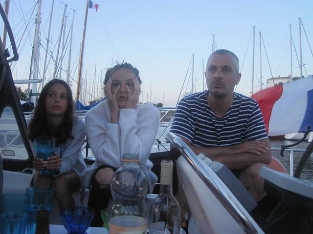 Vincent à bord de D'Jack