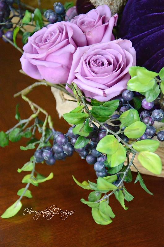 Roses & blueberries-Housepitality Designs