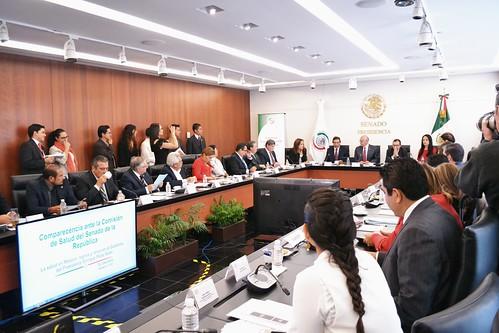 Comisión de Salud. Comparecencia de José Narro Robles: Secretario de Salud 11/Oct/17