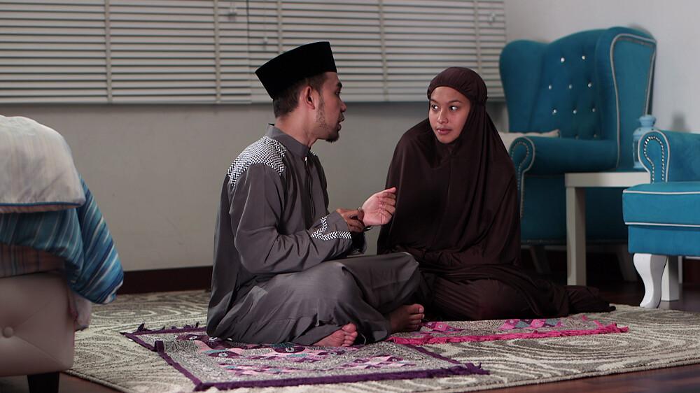 Sharnaaz Ahmad Jual Tudung dalam Drama MR. HIJAB