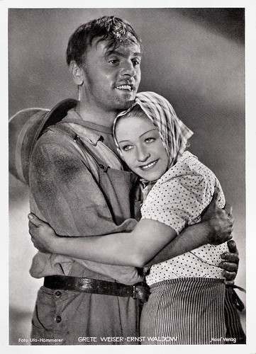 Grethe Weiser and Ernst Waldow in Frauen für Golden Hill (1938)