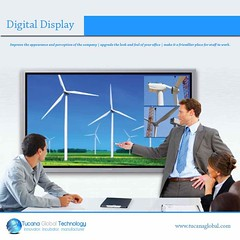 #DigitalDisplay #improves the #appearance & #perception of the #company- #upgrade the #look and #feel of your #office, and make it a #friendlier #place for #staff to work. #TucanaGlobalTechnology #Manufacturer #HongKong