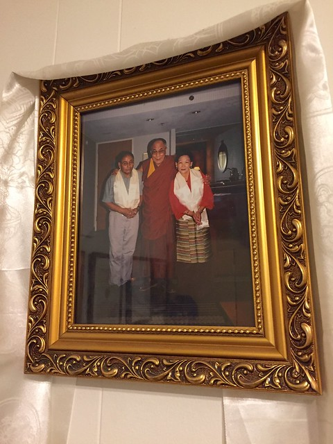 Dr. Bhutti and friend with the Dalai Lama