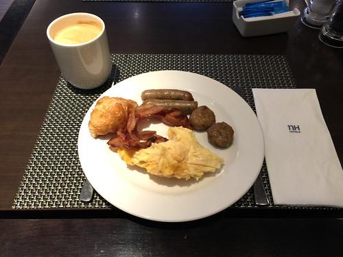 13 - NH Hotel Frankfurt West - Frühstück / Breakfast