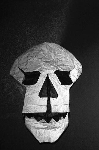 Origami Skull (Matthew Green)
