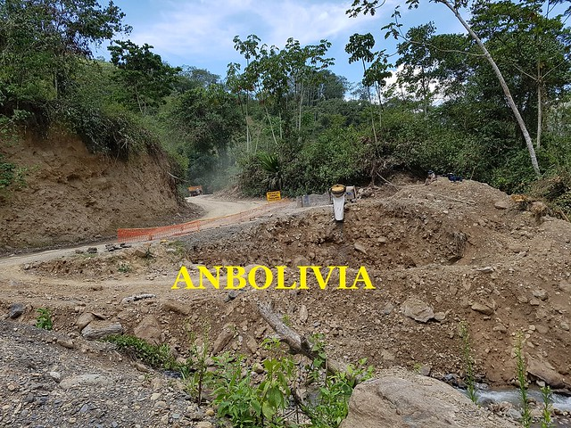 AVANZA LA CONSTRUCCIÓN DEL PUENTE DEL RÍO CHARIA DE LA ASUNTA, YUNGAS