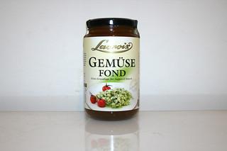 08 - Zutat Gemüsefond / Ingredient vegetable stock