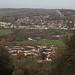 Bathampton (below) & Batheaston across the Avon
