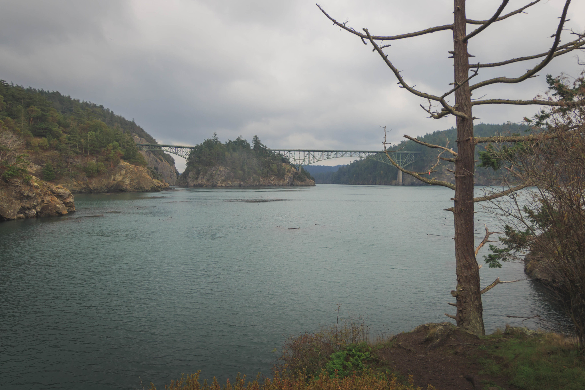 Two pass bridges