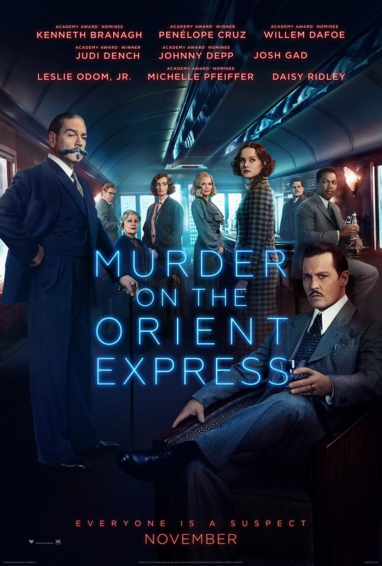 Murder on the Orient Express - 2017 - Poster 3