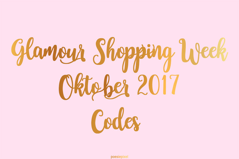 Glamour Shopping Week 2017