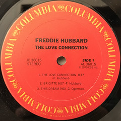 FREDDIE HUBBERD:THE LOVE CONNECTION(LABEL SIDE-A)