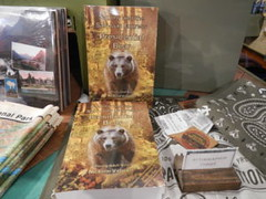 Book Signing for Sammy and the San Juan Express—Presidential Bear — in Glacier National Park