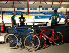 Another night at the velodrome