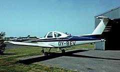 OY-BEV   Beech 77 Skipper [WA-237] Roskilde~OY 07/06/1982