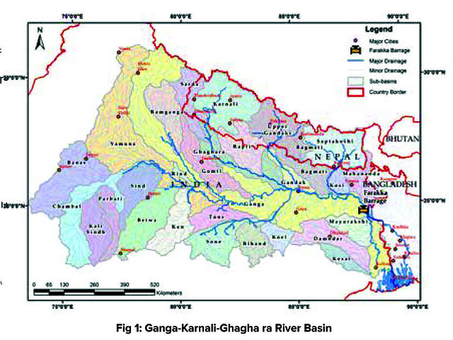 Ganga-Karnali-Ghagha ra River Basin