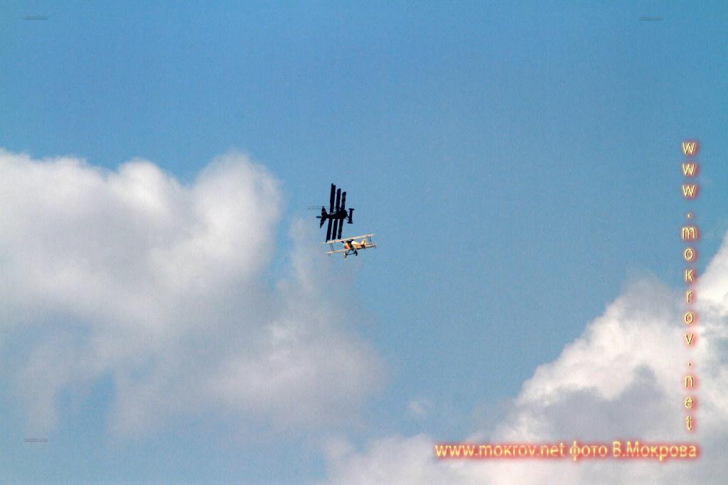 Воздушный Бой Фоккер, По-2.