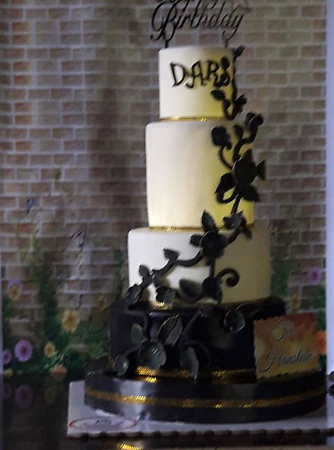 Cake by Zsa Zsa Gabor Cruz of Sweet Z Bakeshop
