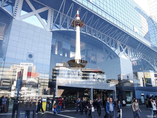 京都車站 京都塔