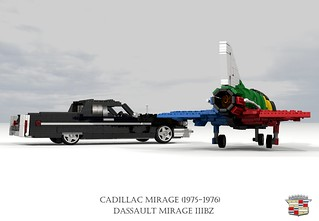 Cadillac 1976 Mirage Coupe-Utility & Dassault Mirage IIIBZ (SAAF)