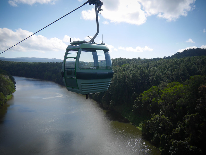 SkyRail Rainforest Cableway 9
