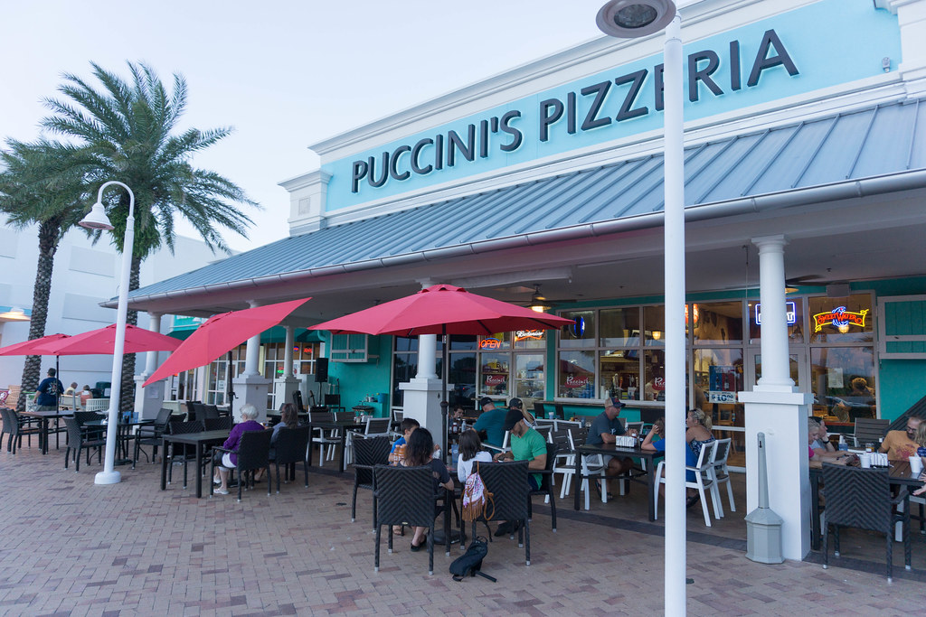 Puccini's Pizzeria - Dog-Friendly St. Augustine, Fla., July 15 - 16, 2017
