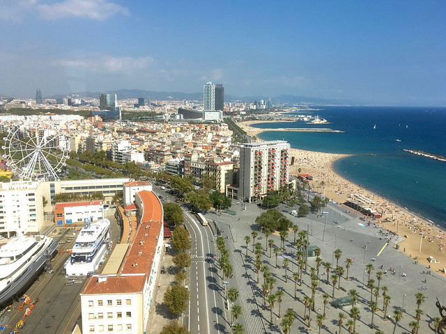 Barcelona ranta