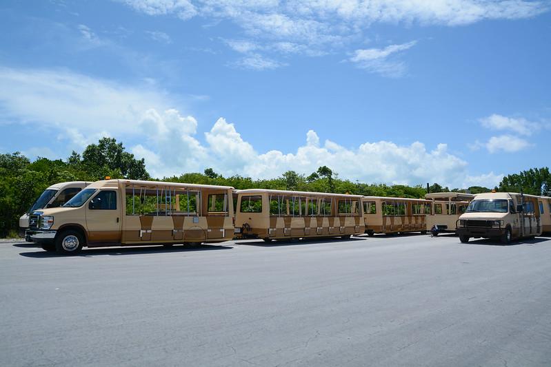 Castaway Cay Trams