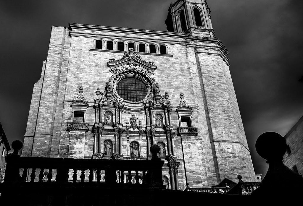 Fachada Catedral De Girona Game Of Thrones Location Flickr