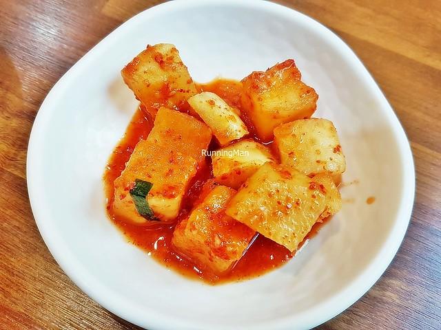 Kimchi Kkakdugi / Kimchi Cubed Pickled Daikon Radish