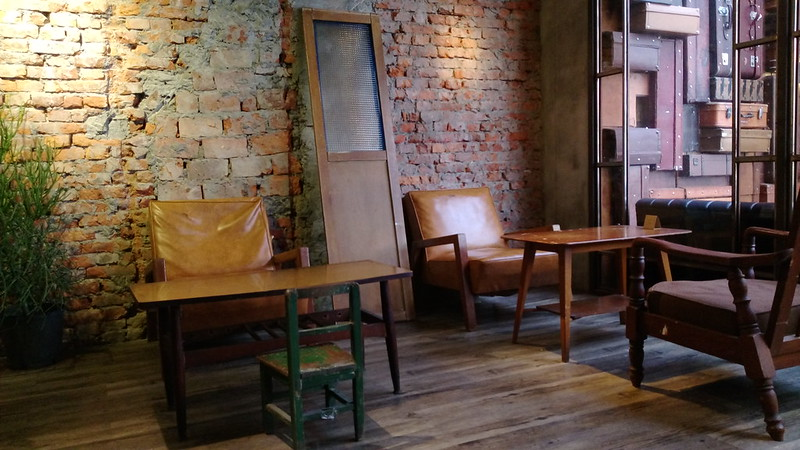 台北東區咖啡館-大樹下 Blackyard-17度c隨拍  (9)