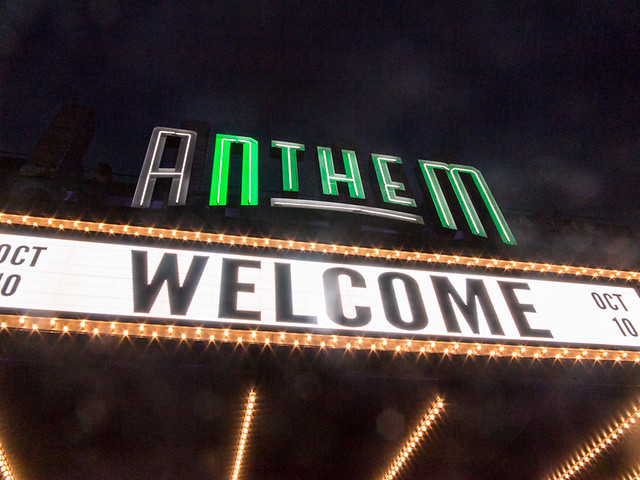 The Anthem soft opening, Washington DC, 10/10/2017