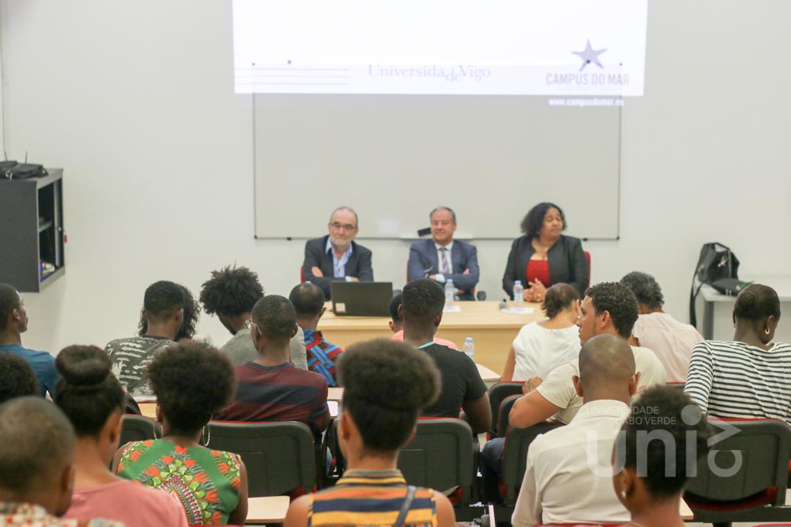 Reitor e Vice-Reitor da Universidade de Vigo proferiram Conferências