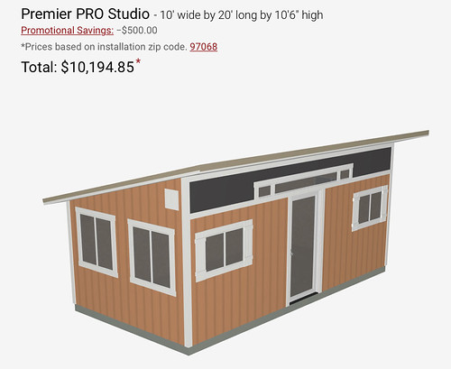 Tuff Shed design