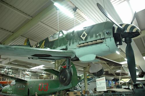 Messerschmitt Bf-109 at the Auto & Technik Museum, Sinsheim