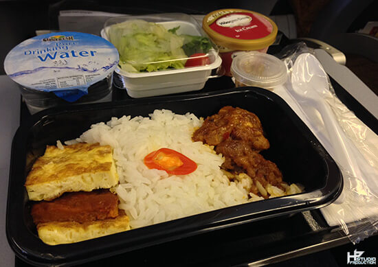 scoot inflight meal