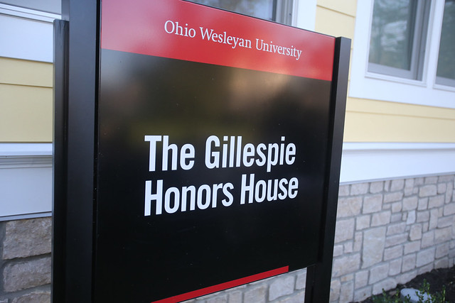 Gillespie Honors House Dedication Celebration