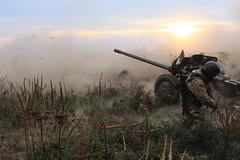 Бригадні тактичні навчання з бойовою стрільбою відбулись на Чернігівщині