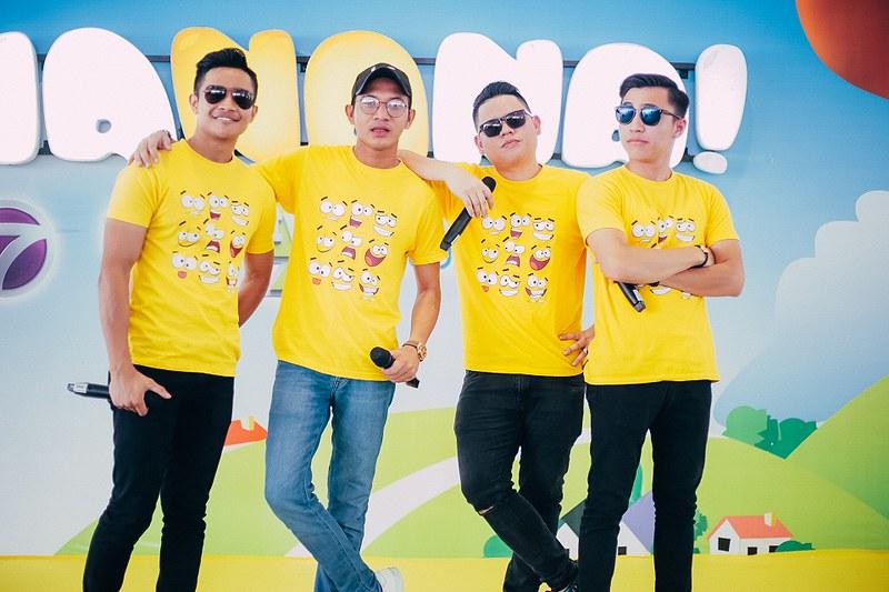 Booth Bananana Land yang sememangnya menjadi pilihan kanak-kanak menampilkan Chiwan, Harris Alif, Afieq Syazwan dan Wanss Ahmad
