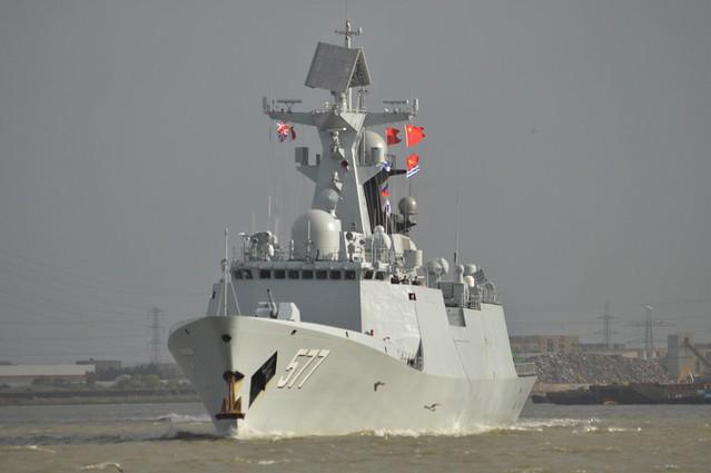 PLAN Huanggang (3) @ Gallions Reach 02-10-17