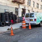 Flat Fix Tire Shop on West 213th Street, Inwood, New York City