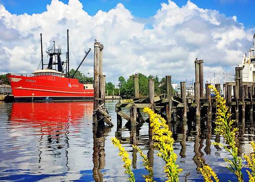 Kodiak is docked in Bayou La Batre Alabama